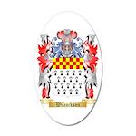 Wilcockson 35x21 Oval Wall Decal