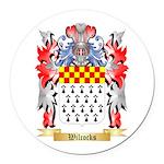 Wilcocks Round Car Magnet