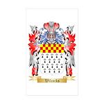 Wilcocks Sticker (Rectangle 50 pk)