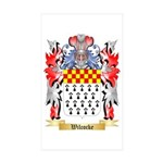 Wilcocke Sticker (Rectangle 10 pk)