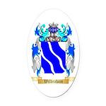 Wilbraham Oval Car Magnet