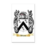 Wilame Rectangle Car Magnet