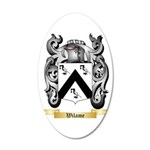 Wilame 20x12 Oval Wall Decal