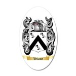Wilame 35x21 Oval Wall Decal