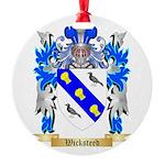 Wicksteed Round Ornament