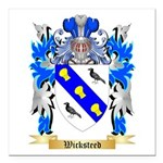 Wicksteed Square Car Magnet 3