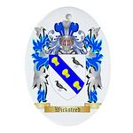 Wicksteed Oval Ornament