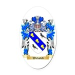 Wicksted Oval Car Magnet