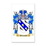 Wicksted Rectangle Car Magnet