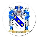Wicksted Round Car Magnet