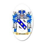 Wicksted 20x12 Oval Wall Decal