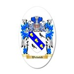 Wicksted 35x21 Oval Wall Decal