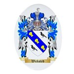 Wicksted Oval Ornament