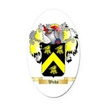 Wicks Oval Car Magnet