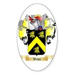 Wicks Sticker (Oval 50 pk)