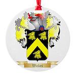 Wickes Round Ornament