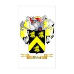 Wickes Sticker (Rectangle 50 pk)