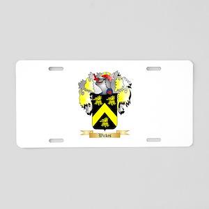 Wickes Aluminum License Plate