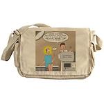 The Colonoscopy 3000 XL Probe Messenger Bag