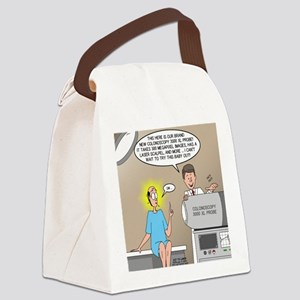 The Colonoscopy 3000 XL Probe Canvas Lunch Bag
