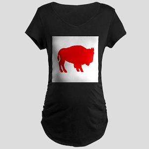 Red Buffalo Maternity T-Shirt