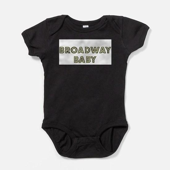 Funny Broadway Baby Bodysuit