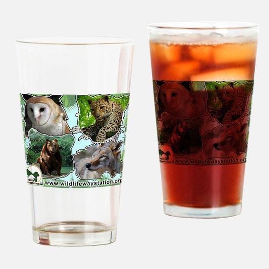 Unique Reptile rescue Drinking Glass