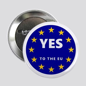 """Yes to Europe! 2.25"""" Button"""