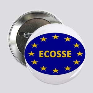 """Ecosse Together With Europe 2.25"""" Button"""