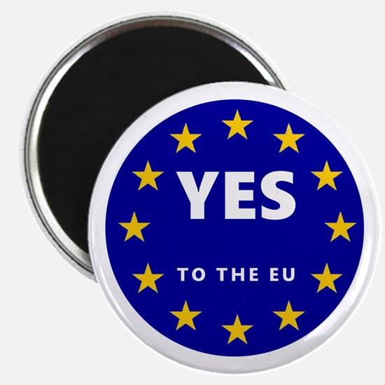 Yes to Europe! Magnet