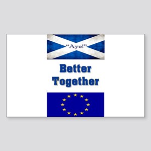 Better Together Sticker (Rectangle)