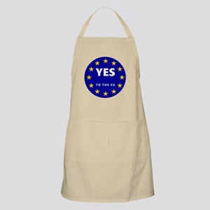 Yes to Europe! Apron