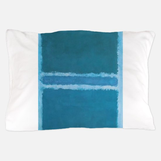 ROTHKO_SHADES OF BLUE Pillow Case