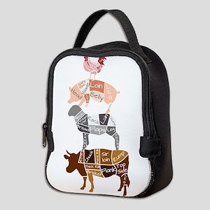 Butcher Block - Totem Neoprene Lunch Bag