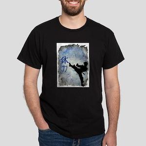Power Kick Ash Grey T-Shirt