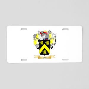 Wick Aluminum License Plate