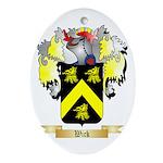 Wick Oval Ornament