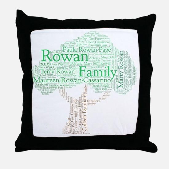 Cute Rowan Throw Pillow