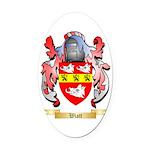 Wiatt Oval Car Magnet