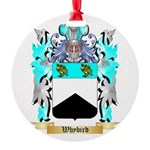 Whybird Round Ornament