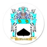 Whybird Round Car Magnet