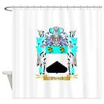 Whybird Shower Curtain