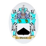 Whybird Oval Ornament