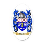 Whooley Oval Car Magnet
