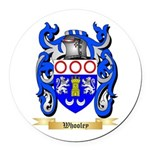 Whooley Round Car Magnet