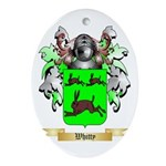 Whitty Oval Ornament