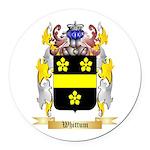 Whittum Round Car Magnet