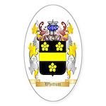 Whittum Sticker (Oval 10 pk)