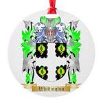 Whittington Round Ornament