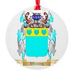 Whitting Round Ornament